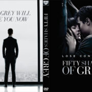Fifty Shades Of Grey (2015) R0 Custom DVD Cover