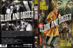 Cloak And Dagger (1946) R1 Custom DVD Cover