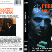 Perfect Witness (1989) R1 Custom DVD Cover