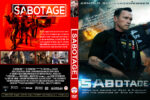 Sabotage (2014) Custom DVD Cover