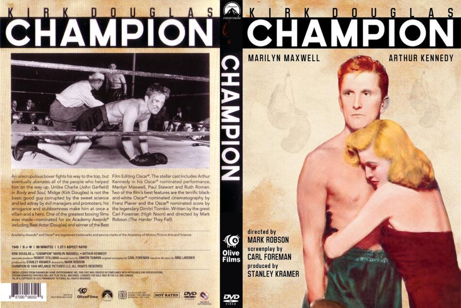 champion dvd cover