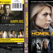 Homeland: Season 2 (2012) R1 Custom DVD Cover