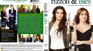 Rizzoli & Isles dvd cover