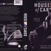 House Of Cards Season Two (2014) R1 Custom DVD Cover