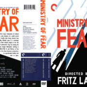 Ministry of Fear (1944) R1 Custom DVD Cover