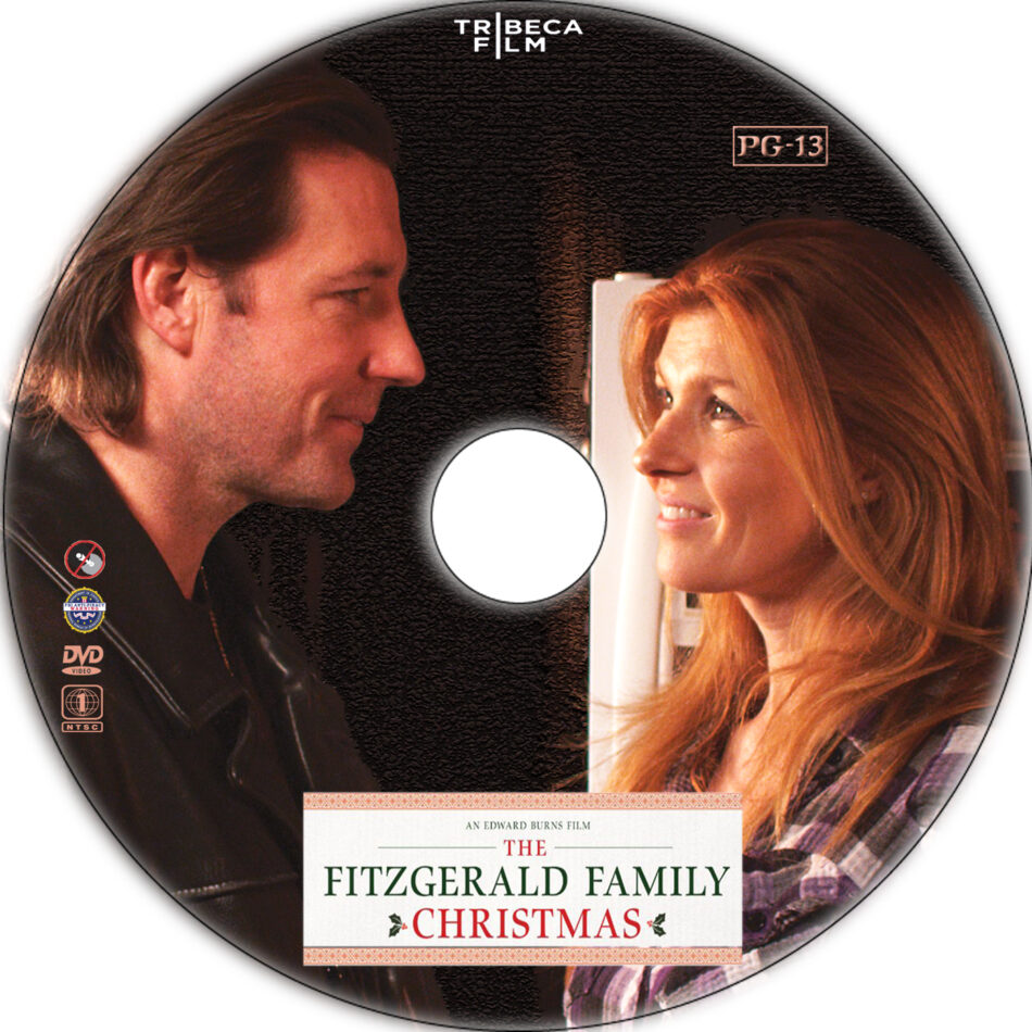 The Fitzgerald Family Christmas dvd label