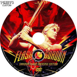 Flash Gordon - Label