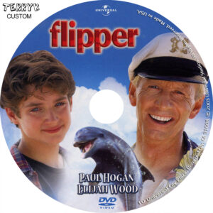 Flipper dvd label