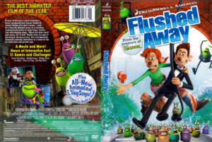 Flushed Away dvd cover