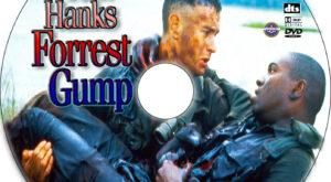 Forrest Gump dvd label