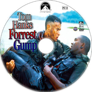 Forrest Gump dvd label