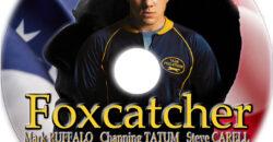 foxcatcher dvd label