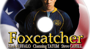 foxcatcher dvd label