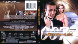 From Russia With Love (Blu-ray) dvd cover