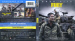 Fury (2015) Blu-Ray DVD Cover & Label