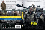 Fury (2014) R2 DVD Cover