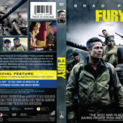 Fury (2014) R1 DVD Cover
