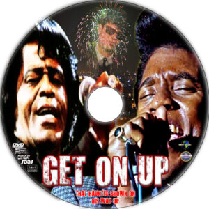 Get on Up dvd label