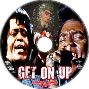 Get on Up dvd label