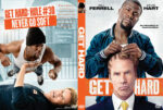 Get Hard (2015) R0 Custom DVD Cover