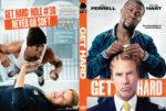 Get Hard (2015) R0 Custom DVD Cover