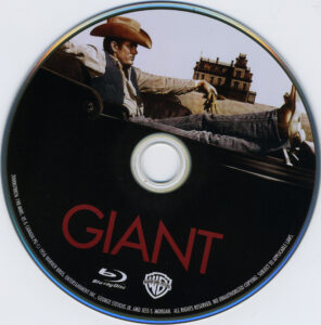 Giant blu-ray dvd label