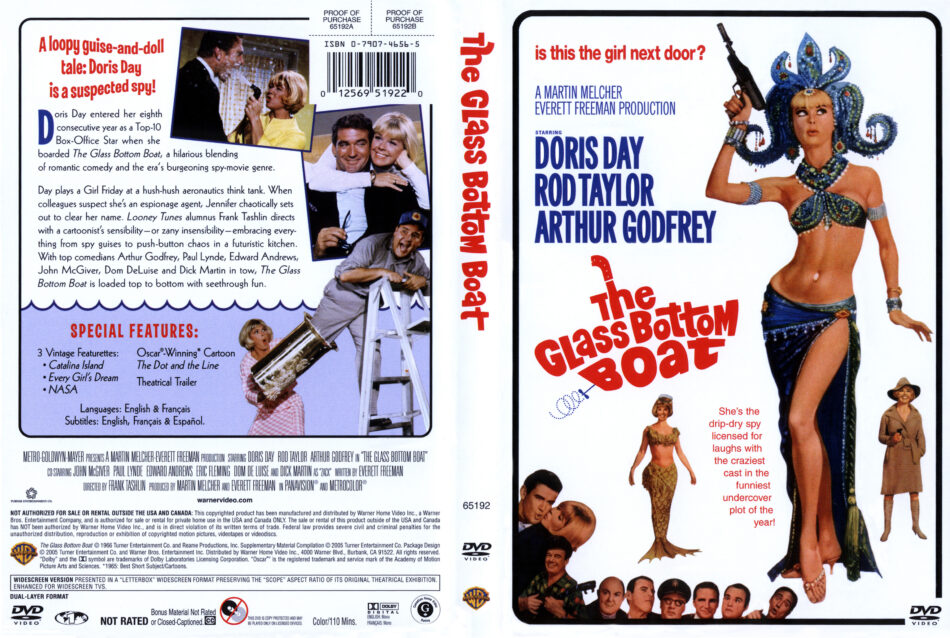 Glass Bottom Boat, The dvd cover