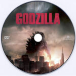 Godzilla (2014) Custom DVD Label