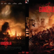 Godzilla (2014) Custom DVD Cover