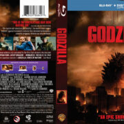 Godzilla (2014) R1 Blu-Ray DVD Covers