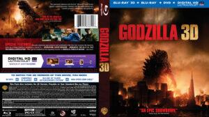 Godzilla 3D blu-ray dvd cover