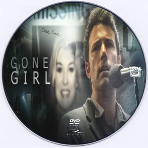 Gone Girl dvd label