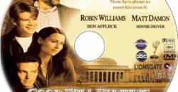 Good Will Hunting dvd label