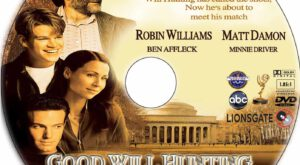 Good Will Hunting dvd label