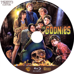 Goonies, The (BR) Label
