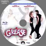 Grease (1978) Blu-Ray DVD Label