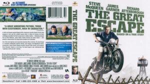 Great Escape, The (Blu-ray) dvd cover