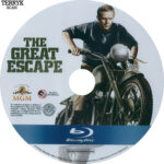 The Great Escape (1963) Blu-Ray DVD Label
