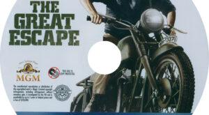 Great Escape, The (Blu-ray) Label