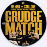 Grudge Match (2013) Custom DVD Label