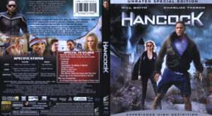 Hancock (Blu-ray) dvd cover