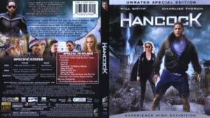 Hancock (Blu-ray) dvd cover