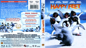 Happy Feet (Blu-ray) dvd cover