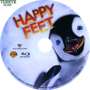 Happy Feet (Blu-ray) Label