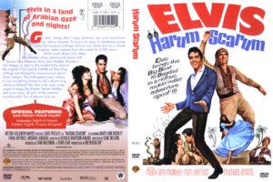Harum Scarum - R1 dvd cover