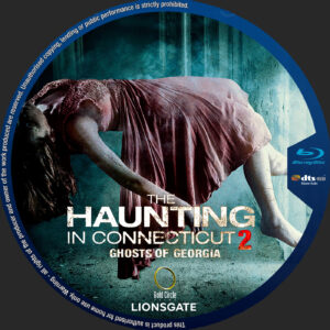 The Haunting in Connecticut 2: Ghosts of Georgia blu-ray dvd label
