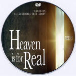 Heaven Is for Real (2014) Custom DVD Label