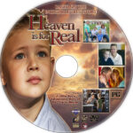 Heaven Is For Real (2014) R1 Custom DVD Label