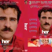 Her (2013) Custom DVD Cover
