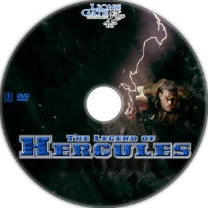 the legend of hercules dvd label